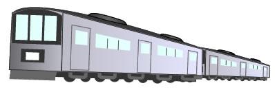 電車の英語